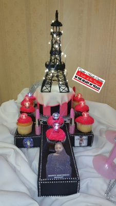 Project Runway: Paris Edition Themed Cake