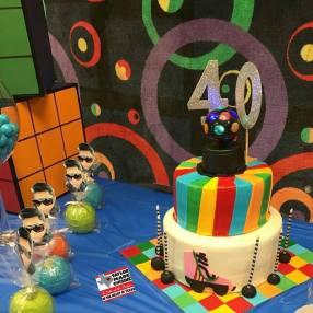 80's Themed Cake