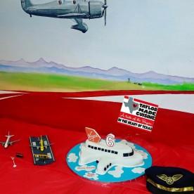 Flight Museum Birthday Cake