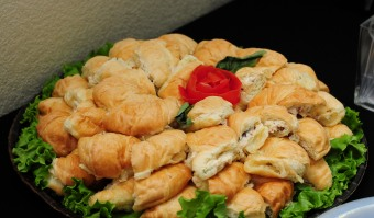 Smoked Chicken Salad on Honey Butter Croissants
