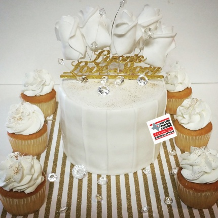 Lyon's Love Story- Intimate Wedding Cake Packages Available