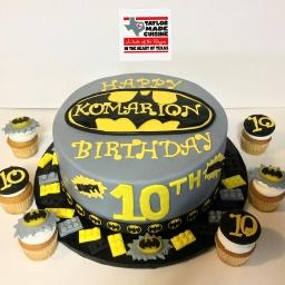 Batman Lego Themed Birthday Cake