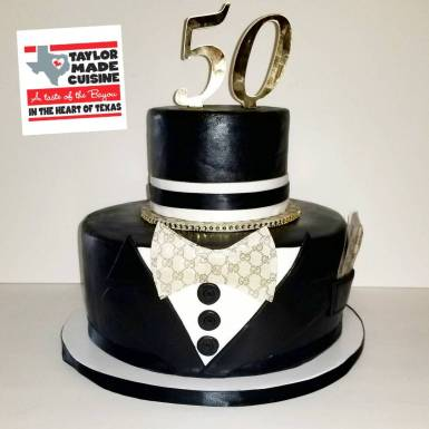 Happy 50th Birthday #TuxedoCake🤵🏽