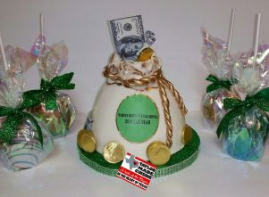 Money Bag Cake